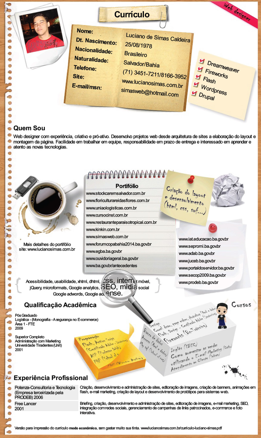 Curriculum Vitae Layout 40 Great Html Cv Resume Templates