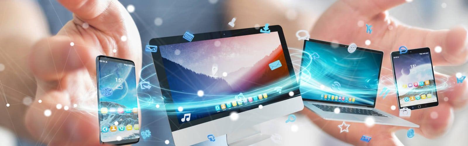Criação de site para todos os dispositivos, sites responsivos