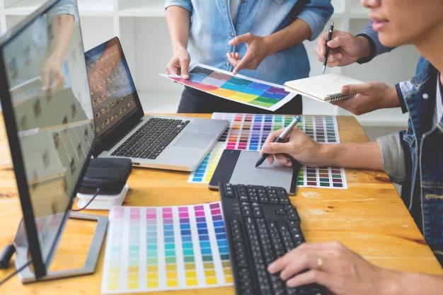 designer gráfico, editoração de imagem